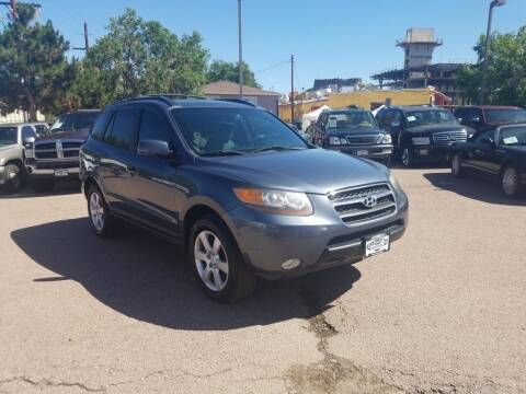 2007 Hyundai Santa Fe for sale at BERKENKOTTER MOTORS in Brighton CO