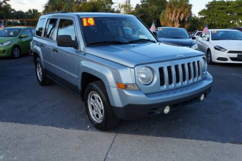 2014 Jeep Patriot for sale at J Linn Motors in Clearwater FL