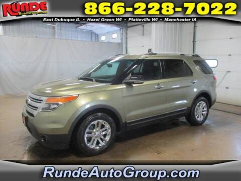 2012 Ford Explorer for sale at Runde Chevrolet in East Dubuque IL
