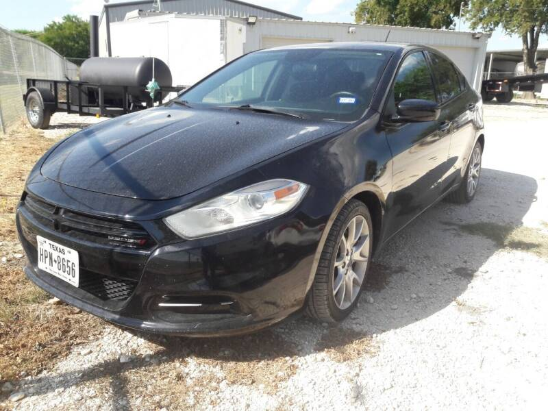 2013 Dodge Dart for sale at Texas Auto Trailer Exchange in Cleburne TX