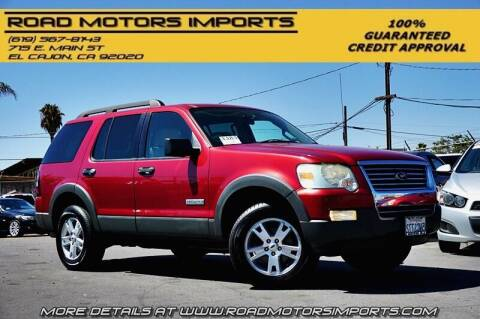 2006 Ford Explorer for sale at Road Motors Imports in El Cajon CA