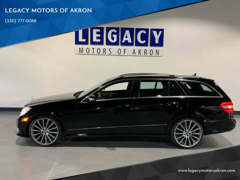 2013 Mercedes-Benz E-Class for sale at LEGACY MOTORS OF AKRON in Akron OH