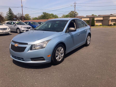 2012 Chevrolet Cruze for sale at Majestic Automotive Group in Cinnaminson NJ