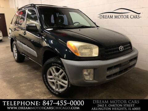 2001 Toyota RAV4 for sale at Dream Motor Cars in Arlington Heights IL