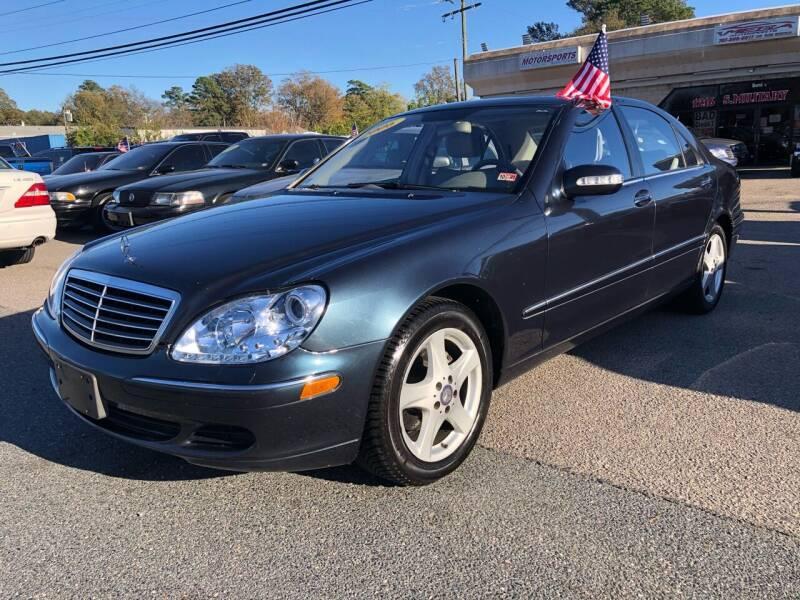 2006 Mercedes-Benz S-Class for sale at Mega Autosports in Chesapeake VA