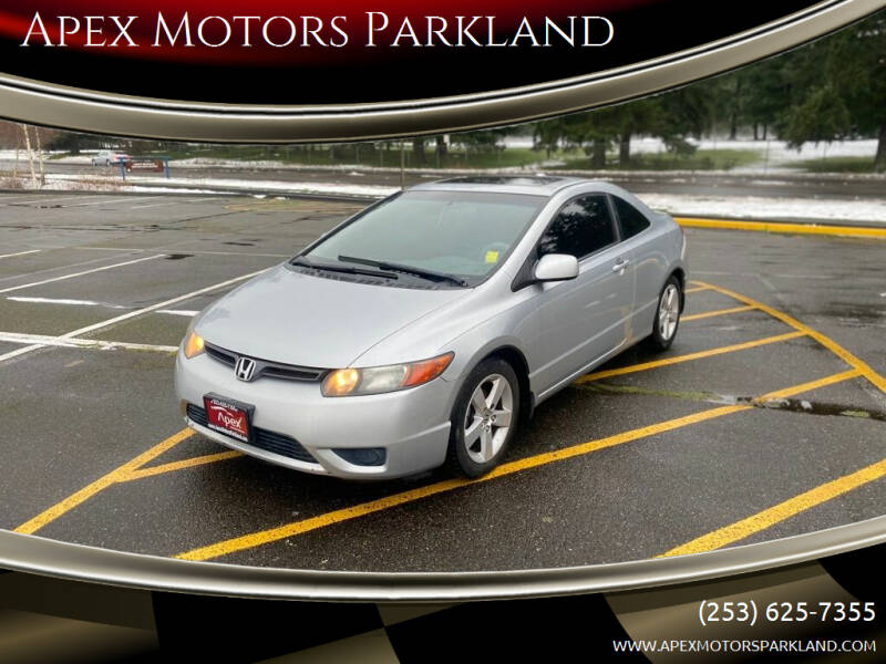 2007 Honda Civic for sale at Apex Motors Parkland in Tacoma WA