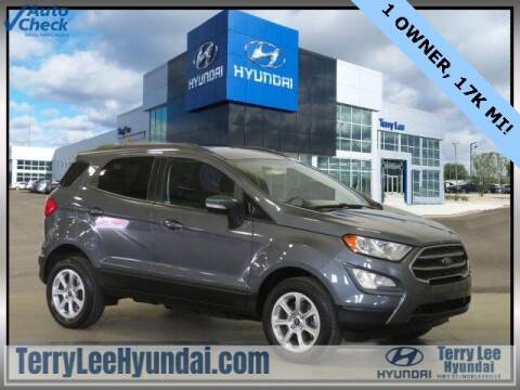 2018 Ford EcoSport for sale at Terry Lee Hyundai in Noblesville IN