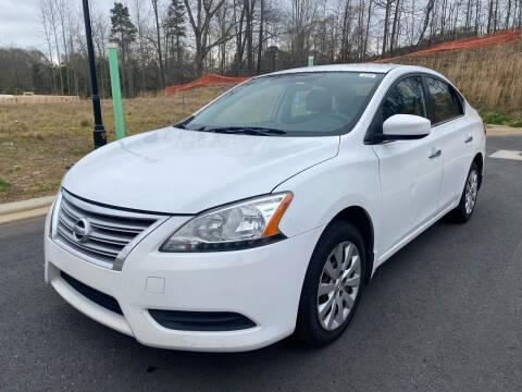 2015 Nissan Sentra for sale at el camino auto sales in Sugar Hill GA