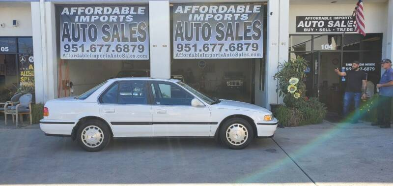 1992 Honda Accord for sale at Affordable Imports Auto Sales in Murrieta CA
