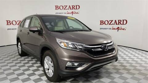 2015 Honda CR-V for sale at BOZARD FORD in Saint Augustine FL