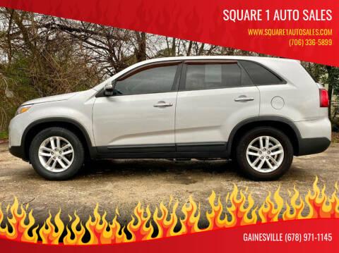 2014 Kia Sorento for sale at Square 1 Auto Sales in Commerce GA