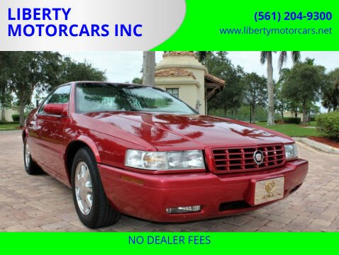 2000 Cadillac Eldorado for sale at LIBERTY MOTORCARS INC in Royal Palm Beach FL