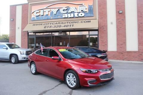 2018 Chevrolet Malibu for sale at CITY CAR AUTO INC in Nashville TN