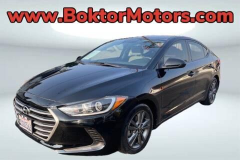 2017 Hyundai Elantra for sale at Boktor Motors in North Hollywood CA