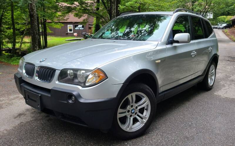 2005 BMW X3 for sale at JR AUTO SALES in Candia NH
