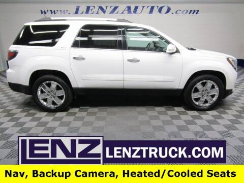 2017 GMC Acadia Limited for sale at LENZ TRUCK CENTER in Fond Du Lac WI