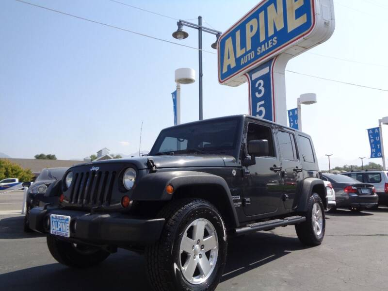 2010 Jeep Wrangler Unlimited for sale at Alpine Auto Sales in Salt Lake City UT