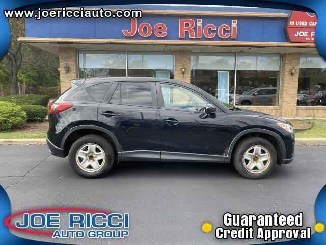 2015 Mazda CX-5 for sale at JOE RICCI AUTOMOTIVE in Clinton Township MI