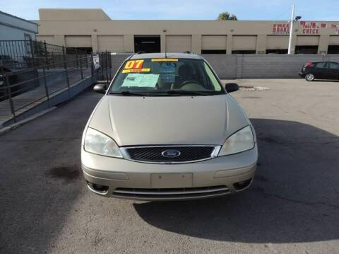 2007 Ford Focus for sale at TJ Motors in Las Vegas NV