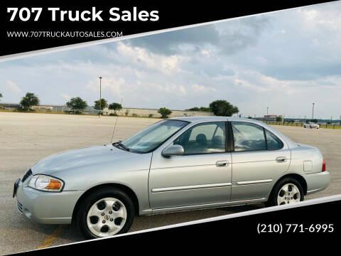 2004 Nissan Sentra for sale at 707 Truck Sales in San Antonio TX