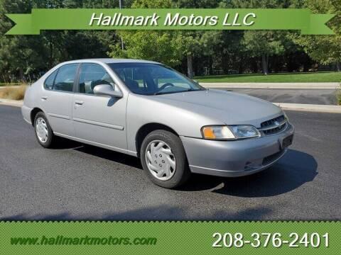 1998 Nissan Altima for sale at HALLMARK MOTORS LLC in Boise ID