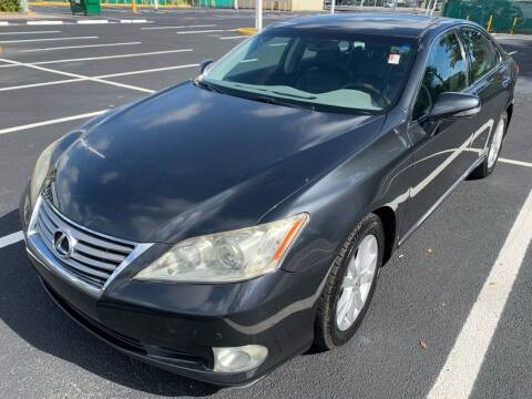 2010 Lexus ES 350 for sale at Eden Cars Inc in Hollywood FL