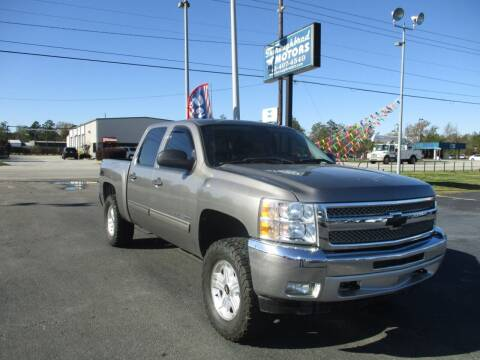 2012 Chevrolet Silverado 1500 for sale at Thoroughbred Motors LLC in Florence SC