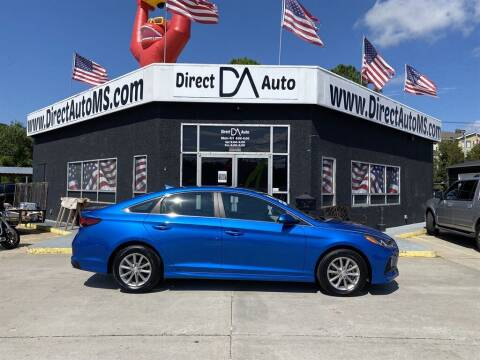 2019 Hyundai Sonata for sale at Direct Auto in D'Iberville MS