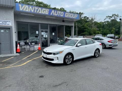 2017 Kia Optima Plug-In Hybrid for sale at Vantage Auto Group in Brick NJ