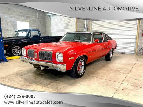 1973 Oldsmobile Omega for sale at Silverline Automotive in Lynchburg VA
