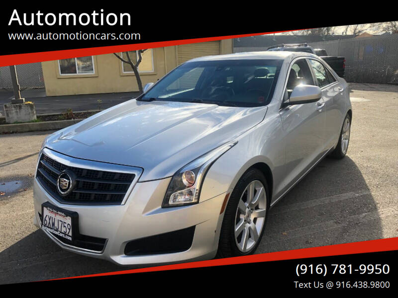 2013 Cadillac ATS for sale at Automotion in Roseville CA