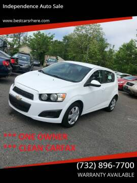 2013 Chevrolet Sonic for sale at Independence Auto Sale in Bordentown NJ