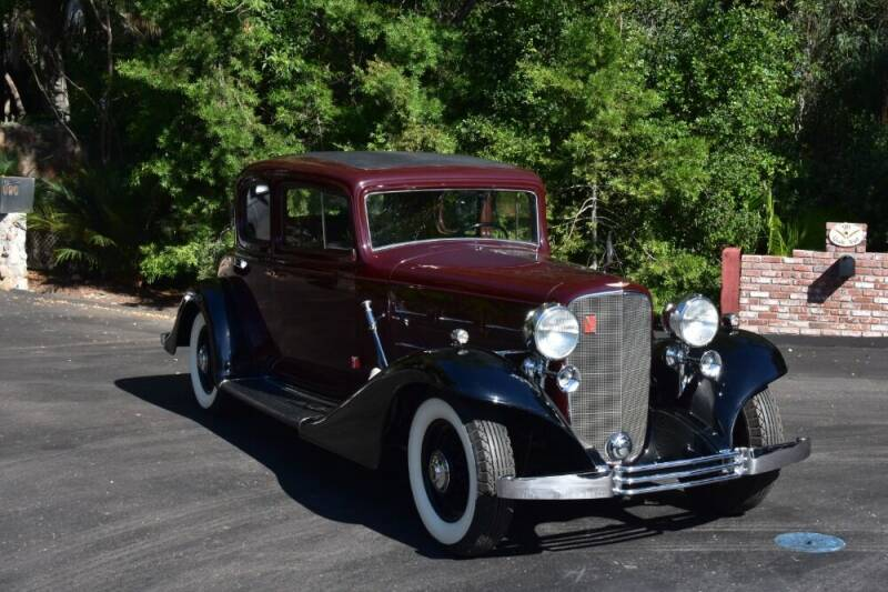 1933 Cadillac V12 for sale at Gullwing Motor Cars Inc in Astoria NY