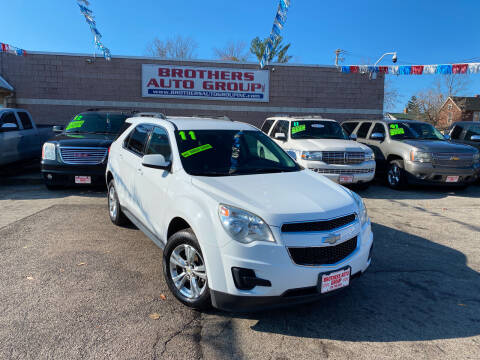 2011 Chevrolet Equinox for sale at Brothers Auto Group in Youngstown OH