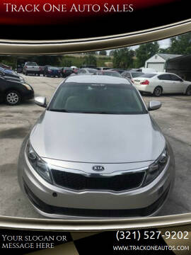 2013 Kia Optima for sale at Track One Auto Sales in Orlando FL