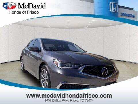 2020 Acura TLX for sale at DAVID McDAVID HONDA OF IRVING in Irving TX