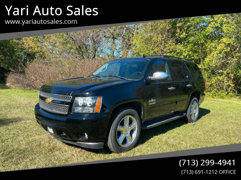 2013 Chevrolet Tahoe for sale at Yari Auto Sales in Houston TX
