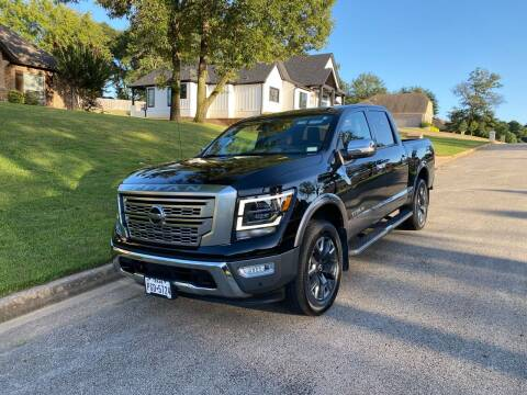 2021 Nissan Titan for sale at Preferred Auto Sales in Tyler TX