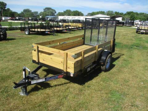 2021 Liberty Single Axle Utility LU3K60X10C for sale at Rondo Truck & Trailer in Sycamore IL