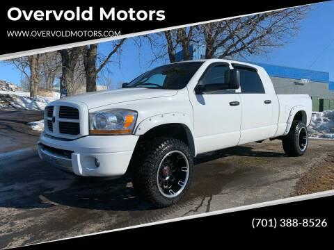 2006 Dodge Ram Pickup 3500 for sale at Overvold Motors in Detriot Lakes MN