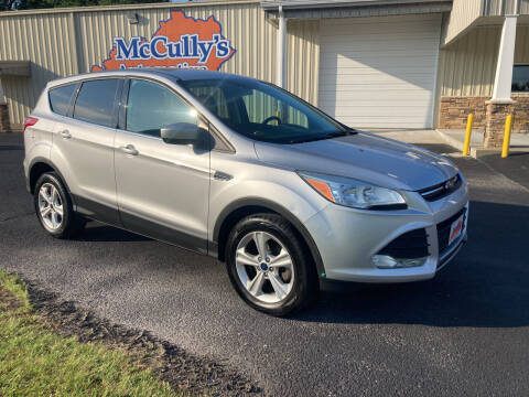 2015 Ford Escape for sale at McCully's Automotive - Trucks & SUV's in Benton KY