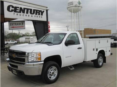 2012 Chevrolet Silverado 2500HD for sale at CENTURY TRUCKS & VANS in Grand Prairie TX