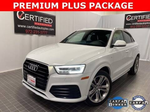 2018 Audi Q3 for sale at CERTIFIED AUTOPLEX INC in Dallas TX