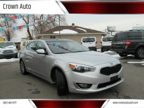 2016 Kia Cadenza for sale at Crown Auto in South Salt Lake City UT