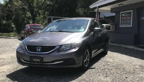 2015 Honda Civic for sale at O & E Auto Sales in Hammonton NJ