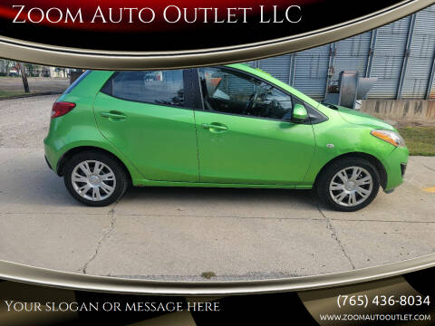 2012 Mazda MAZDA2 for sale at Zoom Auto Outlet LLC in Thorntown IN