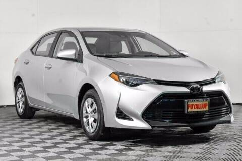 2019 Toyota Corolla for sale at Chevrolet Buick GMC of Puyallup in Puyallup WA