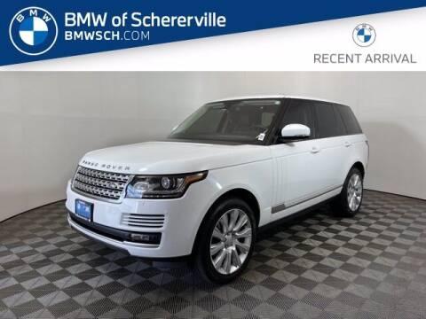 2013 Land Rover Range Rover for sale at BMW of Schererville in Schererville IN