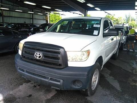 2010 Toyota Tundra for sale at L G AUTO SALES in Boynton Beach FL