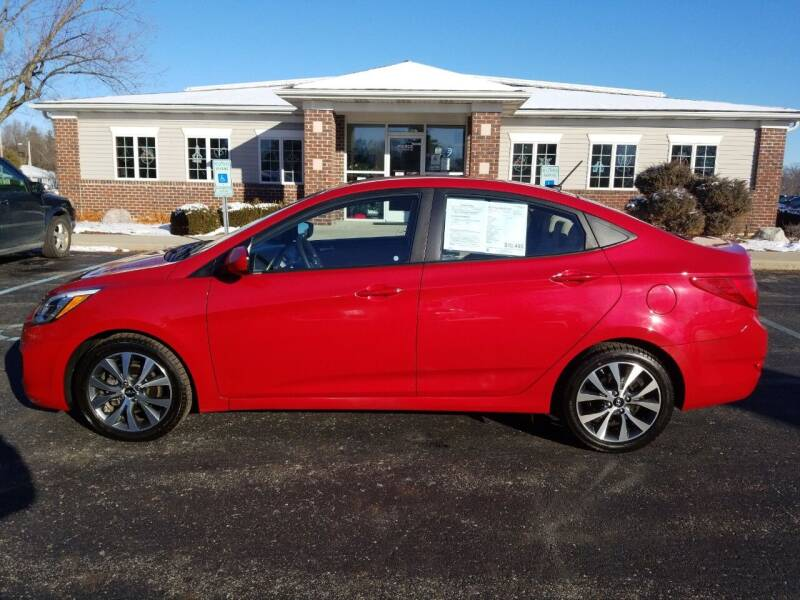 2017 Hyundai Accent for sale at Pierce Automotive, Inc. in Antwerp OH